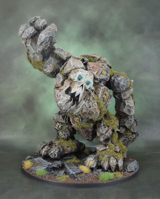 Rogue Idol of Gork (or possibly Mork): Forge World