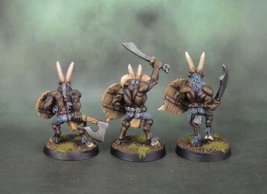 Chaos Chaos Beastmen Gors (Michael Perry, 1995-6) Citadel Miniatures Warhammer Fantasy