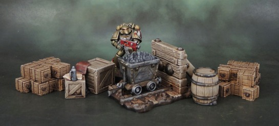 Shadows of Brimstone: Mine Terrain, Scotia Grendel 1007 Crates
