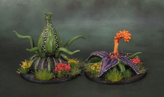 Reaper Bones 77504: Death Star Lillies