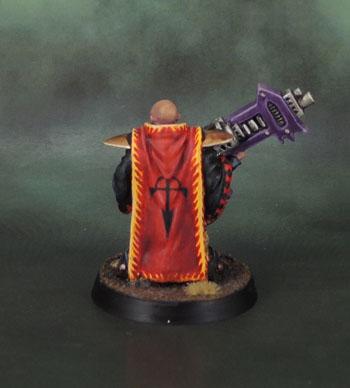 WarZone 1st Edition Dark Legion Technomancer: TG9680, Heartbreaker Hobbies