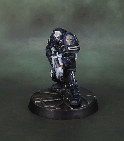 WarZone 1st Edition Cybertronic Chasseur: TG9534PB, Heartbreaker Hobbies