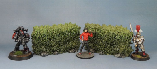 Zombicide: Green Horde - Hedges