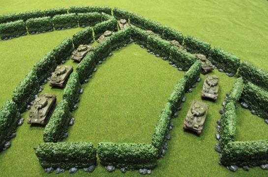 Zombicide: Green Horde - Hedges