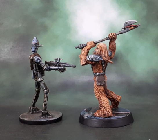 Star Wars Imperial Assault: IG-88, Gaarkhan