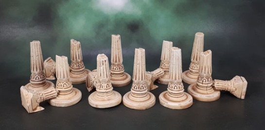 Mythic Battles: Pantheon - Ruined Pillars