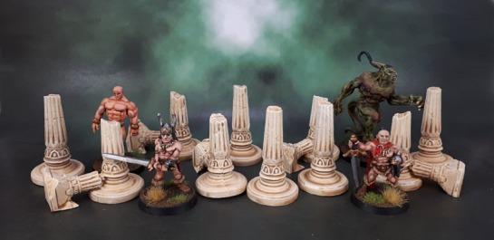 Mythic Battles: Pantheon - Ruined Pillars