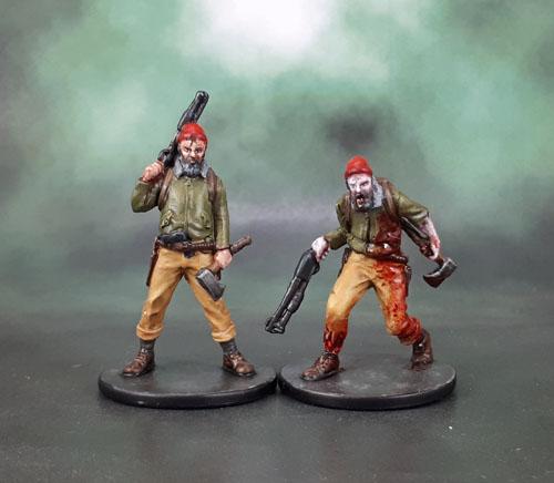 Zombicide Survivor: Red Cap Ben