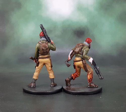 Zombicide Survivor: Red Cap Ben
