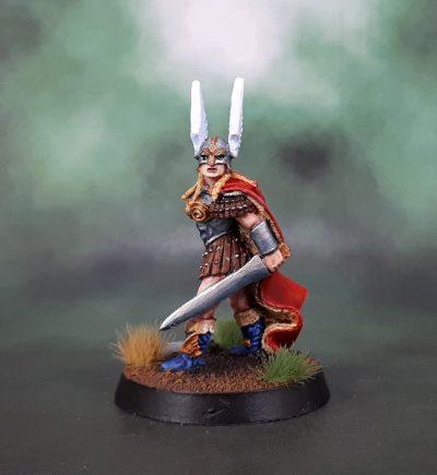 Heresy Miniatures Valkyrie – Heidi Sigrsdotter (Jewel of