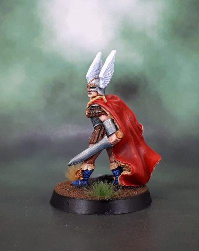 Heresy Miniatures Valkyrie - Heidi Sigrsdotter
