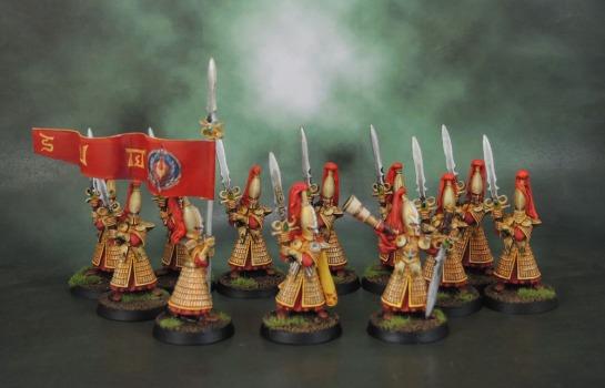 High Elf Swordmasters of Hoeth (Gary Morley, 1998)