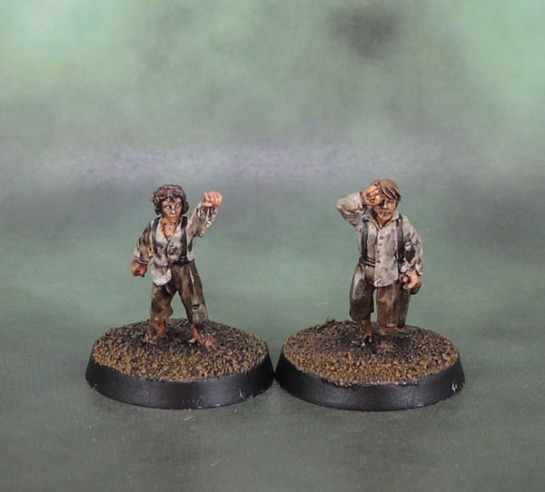 Citadel Miniatures Frodo and Sam (Mount Doom)