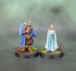 Tom Bombadil and Goldberry (Lady Geneve, Red Box Games) (Jewel of July'18)