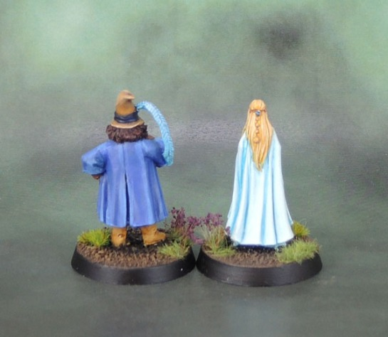 Tom Bombadil and Goldberry (Lady Geneve, Red Box Games)