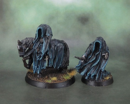 Citadel Miniatures Nazgûl, Nazgul, Ringwraith, The Tainted