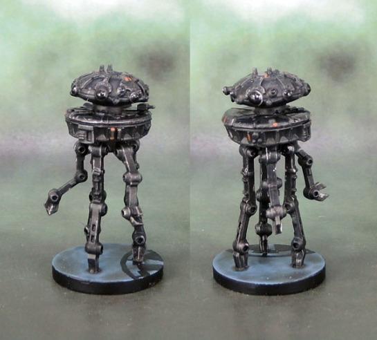 Star Wars Imperial Assault: Elite Probe Droid