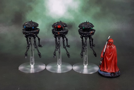 Star Wars Imperial Assault: Imperial Probe Droids