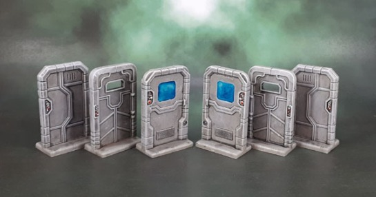Star Saga: Small Doors & Crates