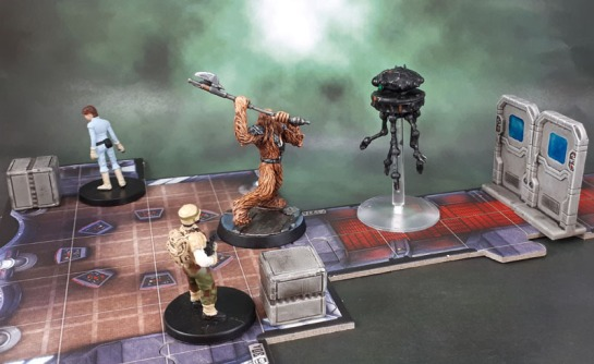 Star Saga: Small Doors & Crates, Imperial Assault