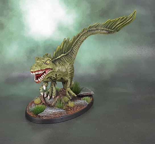 Shadows of Brimstone: Swamp Raptor of Jargono