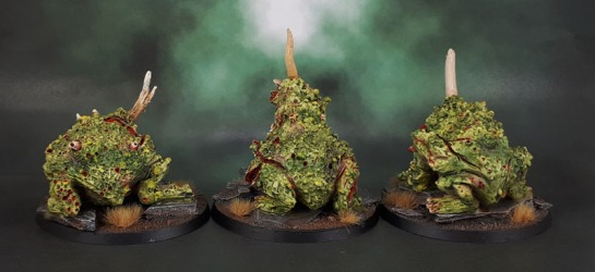 Forge World Nurgle Daemon Plague Toads