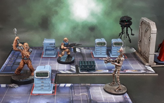 Star Saga: Tool Boxes and Tech Drawers Terminals Scatter Terrain Imperial Assault
