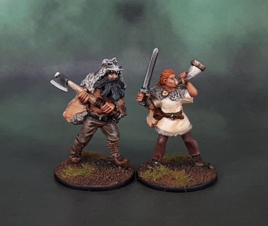 Wargames Foundry Viking Berserkers