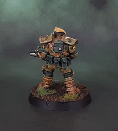 WarZone 1st Edition: Edward S. Murdoch - Imperial Golden Lion Hero, Heartbreaker Hobbies