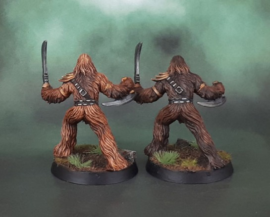 Star Wars Imperial Assault Wookiee Warriors