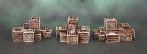 Mantic Terrain Crate, Boxes, Crates