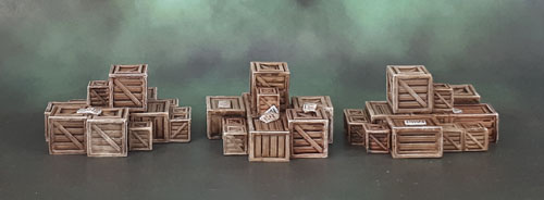 Mantic Terrain Crate, Boxes, Crates
