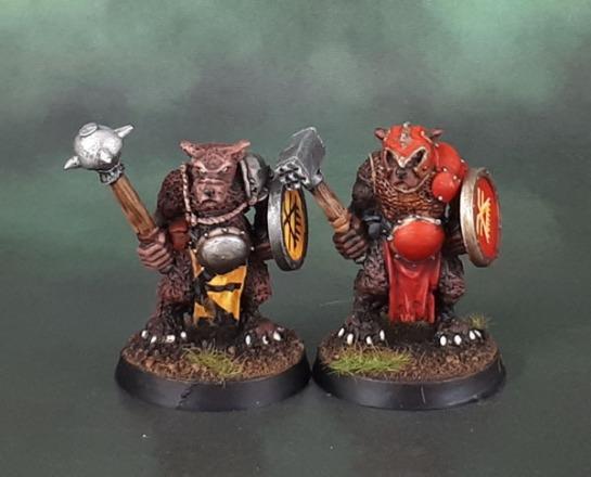 Citadel Oldhammer Realm of Chaos Khorngor Beastmen of Khorne Beasts of Chaos
