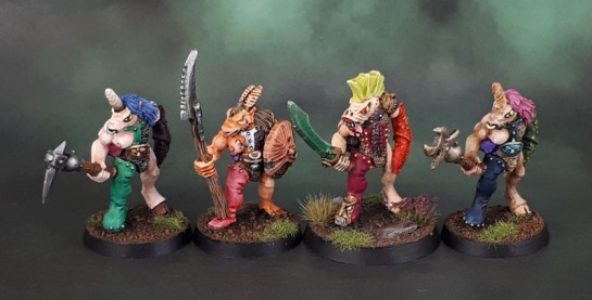 Realm of Chaos - Slaves to Darkness Beastmen Slaangor Oldhammer Beasts of Chaos