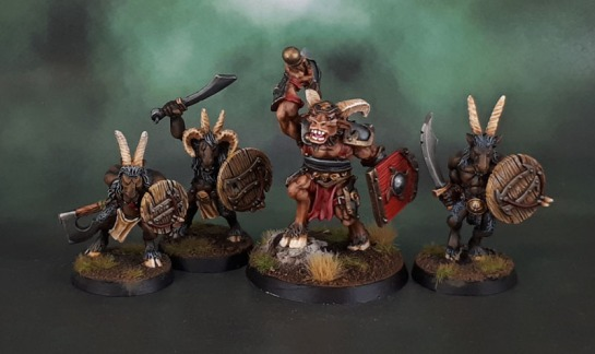 Reaper 14207: Traeg, Reven Hero, Beastman Champion, Beasts of Chaos