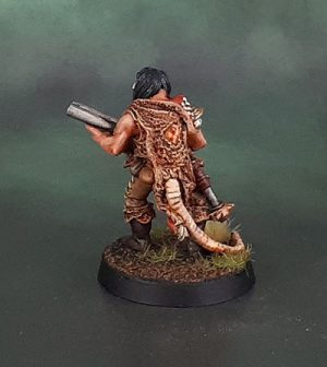 Necromunda Ratskin Scout With Shotgun 2