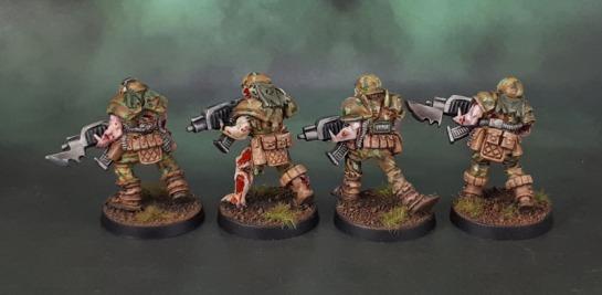 TG9511PB: Warzone Dark Legion Undead Legionnaires, Poxwalkers