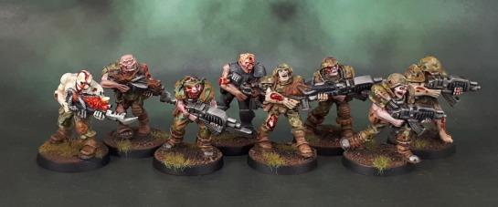 TG9511PB: Warzone Dark Legion Undead Legionnaires, TG9505PB: Warzone Dark Legion Undead Legionnaires, Poxwalkers