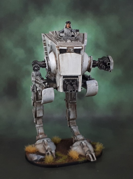 Star Wars Imperial Assault General Weiss AT-ST