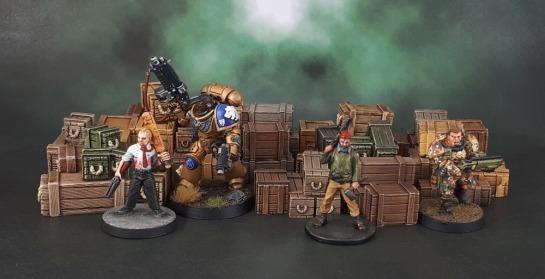 Scotia Grendel 10007 - Resin Crates, Warzone Crates.