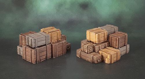 Scotia Grendel 10007 - Resin Crates