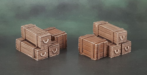 Scotia Grendel 10007 - Resin Crates