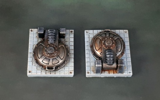 Scotia Grendel 10040 - Sci-Fi Accessories Hatches, Necromunda Terrain, Kill-Team Scenery