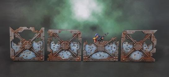 Necromunda 2017 Barricades