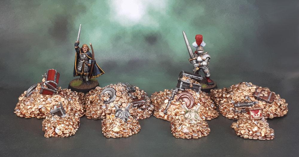 Mantic Terrain Crate. Treasure Piles