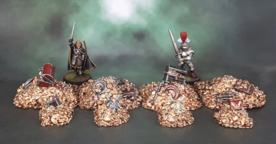 Mantic Terrain Crate. Treasure Piles