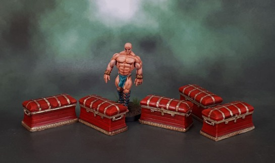 Monolith Conan Boardgame Chests