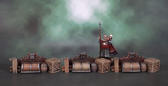Mantic Terrain Crate, Barricades