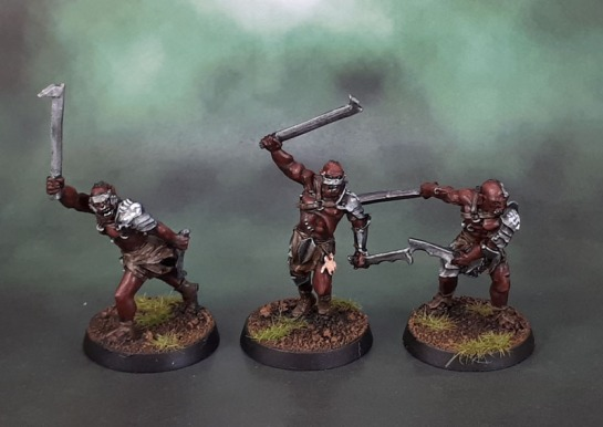 Feral Uruk-Hai Berserkers of Isengard - Middle-Earth: SBG