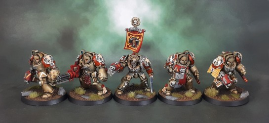 Minotaurs Space Marines - Terminator Squad Akakios, Dark Vengeance, Anvil Industry, Puppetswar